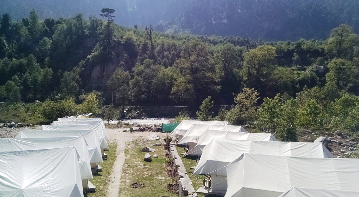 Luxury Tents at Tentsville
